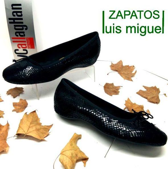 manoletina imitacion reptil callaghan: Catalogo de productos de Zapatos Luis Miguel