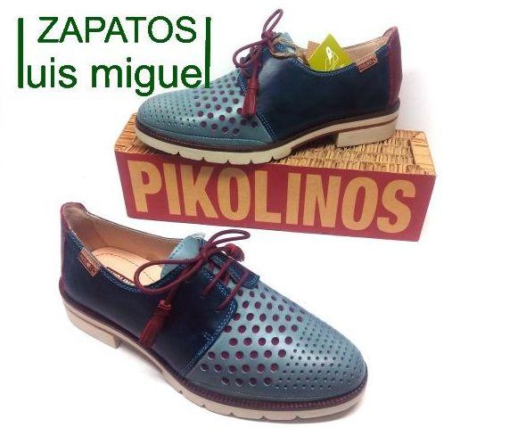 zapatos de cordones de pikolinos: Catalogo de productos de Zapatos Luis Miguel