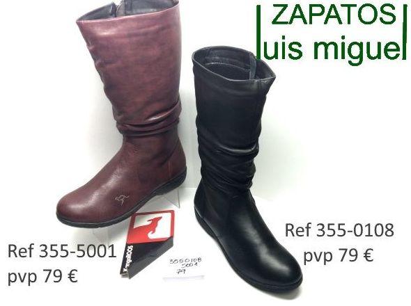 botas de Kangaroos muy juveniles ( ref 355-5001 355-0108): Catalogo de productos de Zapatos Luis Miguel