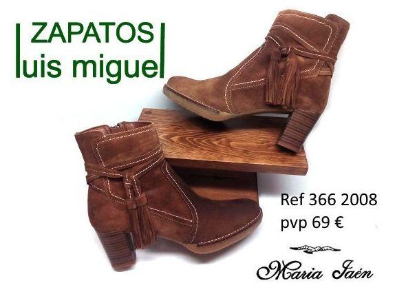 Botines de Maria Jaen serraje (ref 366 2008): Catalogo de productos de Zapatos Luis Miguel