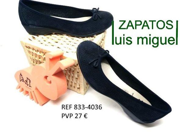 manoletinas de vulladi super comodas: Catalogo de productos de Zapatos Luis Miguel