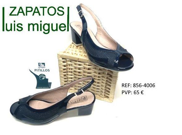 sandalias de pitillos tacon medio: Catalogo de productos de Zapatos Luis Miguel