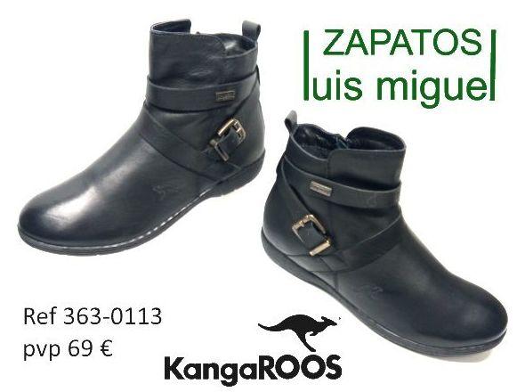 botines juveniles Kangaroos ( ref 363 0113): Catalogo de productos de Zapatos Luis Miguel