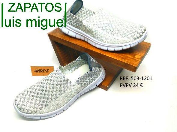zapatillas elasticas muy comodas: Catalogo de productos de Zapatos Luis Miguel
