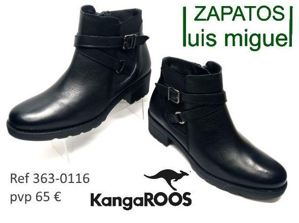 botines juveniles Kangaroos ( ref 363 0116): Catalogo de productos de Zapatos Luis Miguel