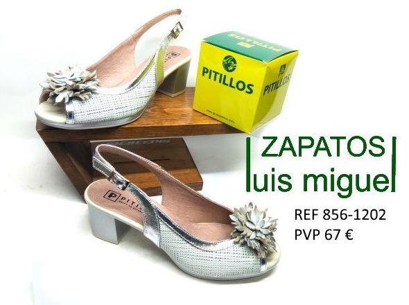 sandalias con pompon de pitillos tacon bajo: Catalogo de productos de Zapatos Luis Miguel