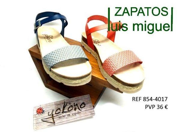 sandalia tira alante y hebilla yokono: Catalogo de productos de Zapatos Luis Miguel