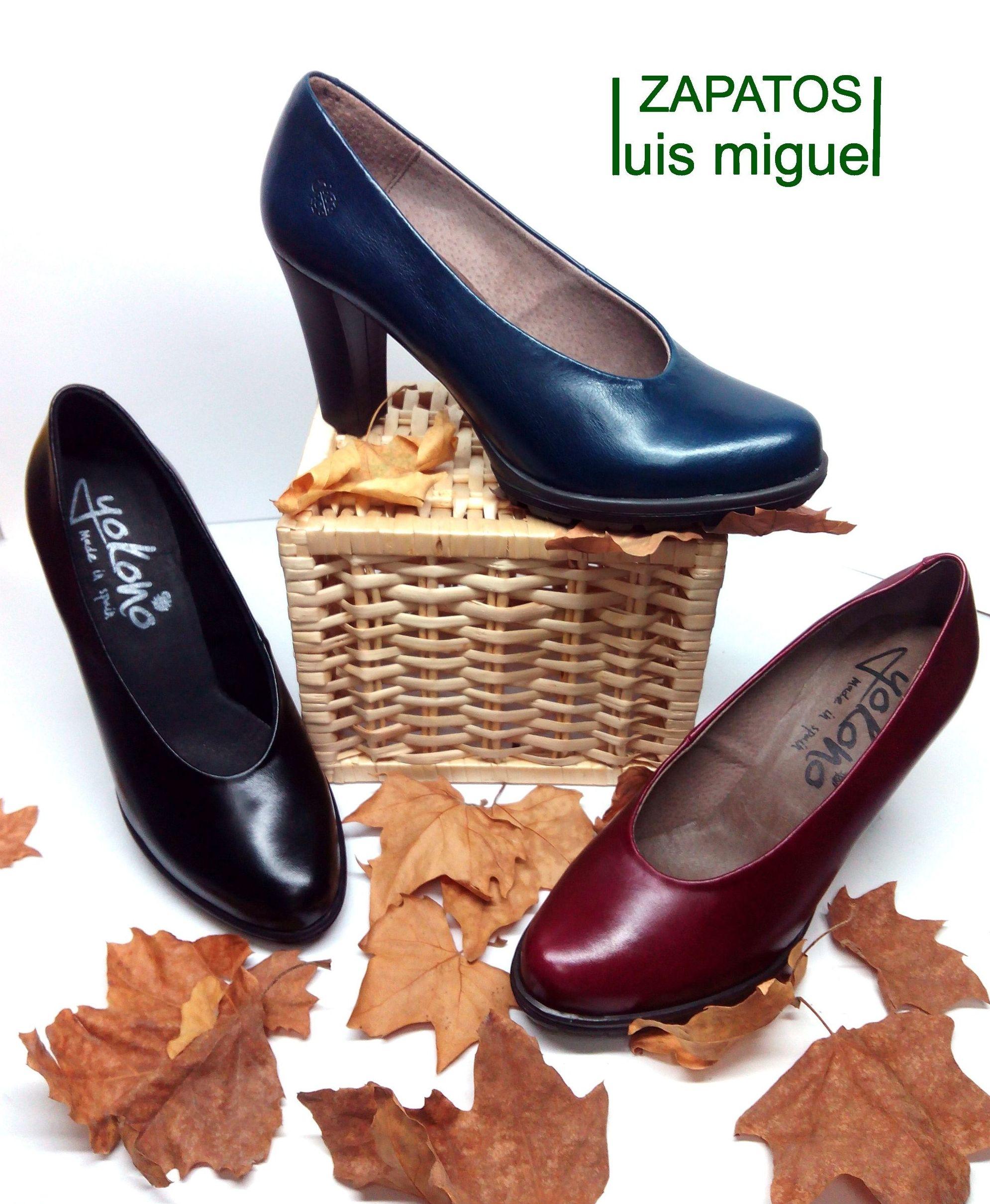 salones de yokono en diferentes colores: Catalogo de productos de Zapatos Luis Miguel