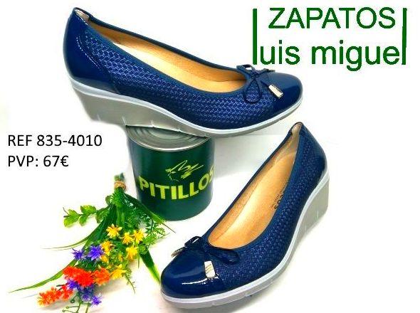 salon con cuña de pitillos: Catalogo de productos de Zapatos Luis Miguel