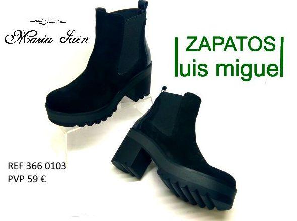 Modernos botines piso grande Maria Jaen: Catalogo de productos de Zapatos Luis Miguel