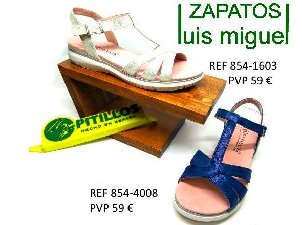 Sandalias juveniles cruzadas de Pitillos: Catalogo de productos de Zapatos Luis Miguel