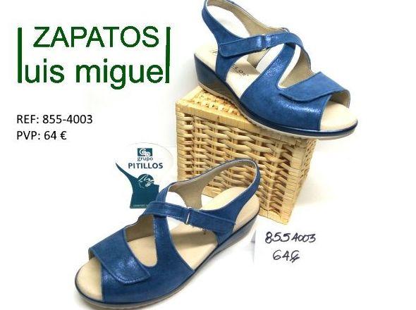 sandalia de pitillos cuña: Catalogo de productos de Zapatos Luis Miguel