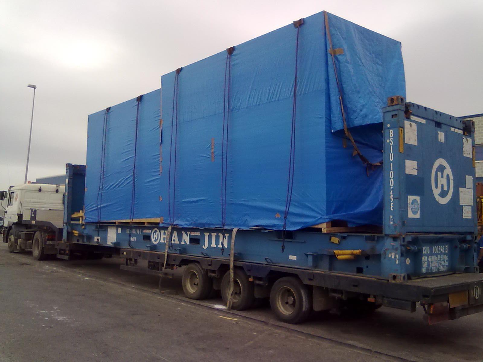Departamento especializado de transporte a Canarias y Marruecos