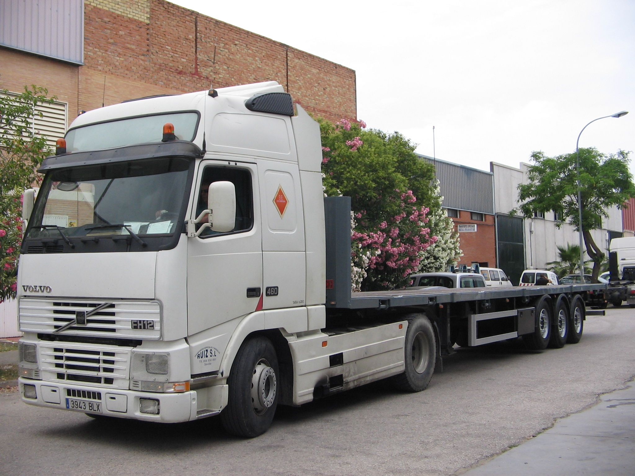 Transporte de maquinaria pesada