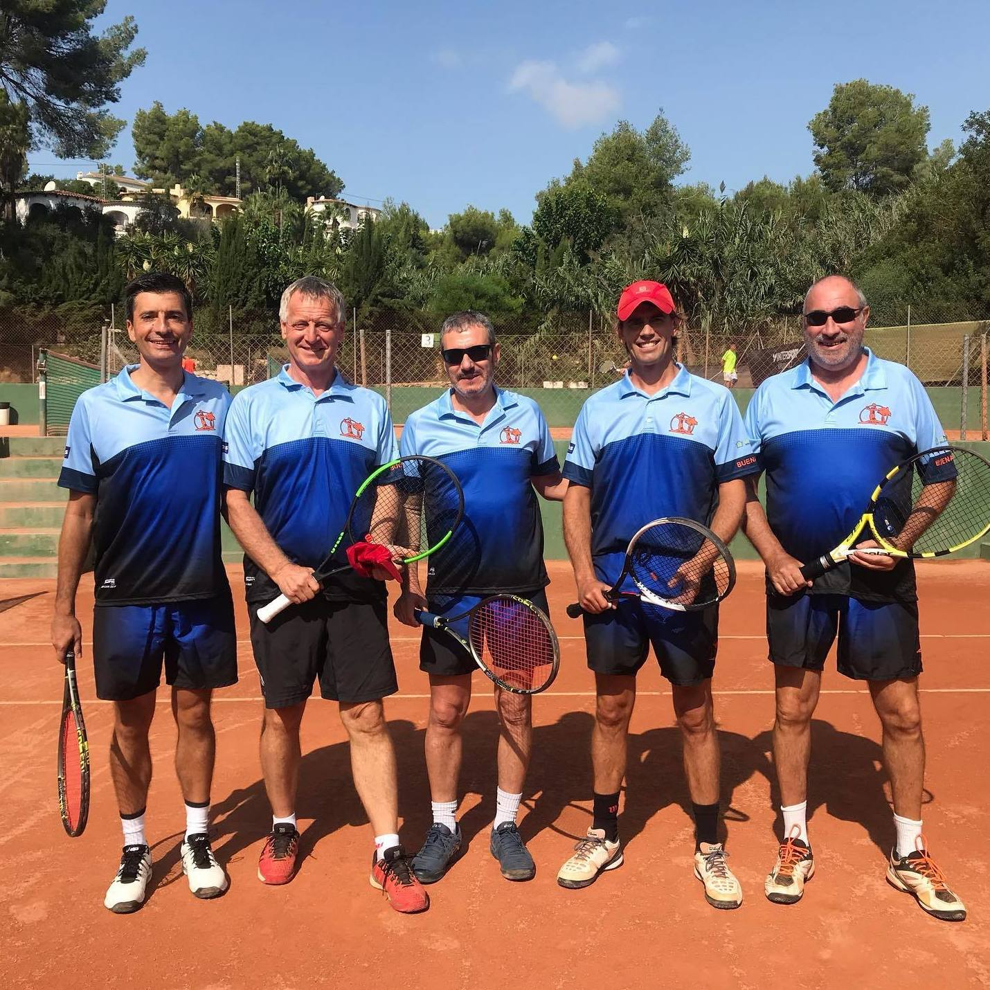 Team tennis championships in Benissa