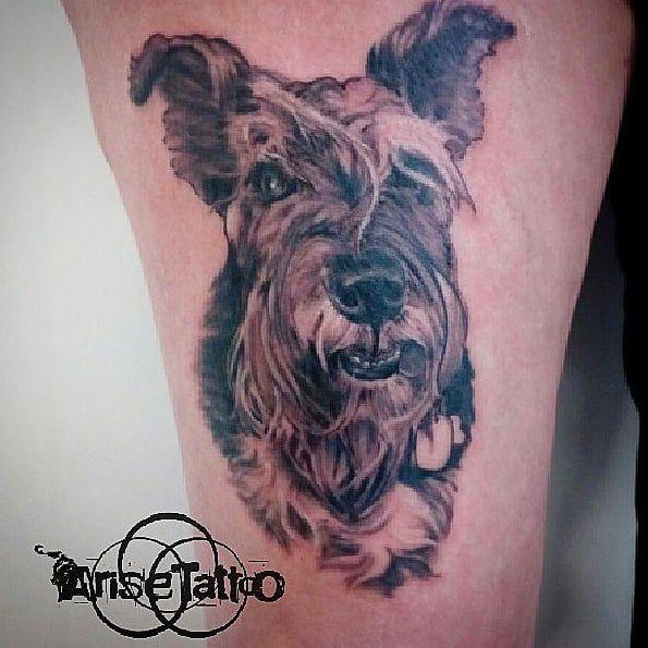 Tatuatge realista de mascota a Sant Feliu de Llobregat