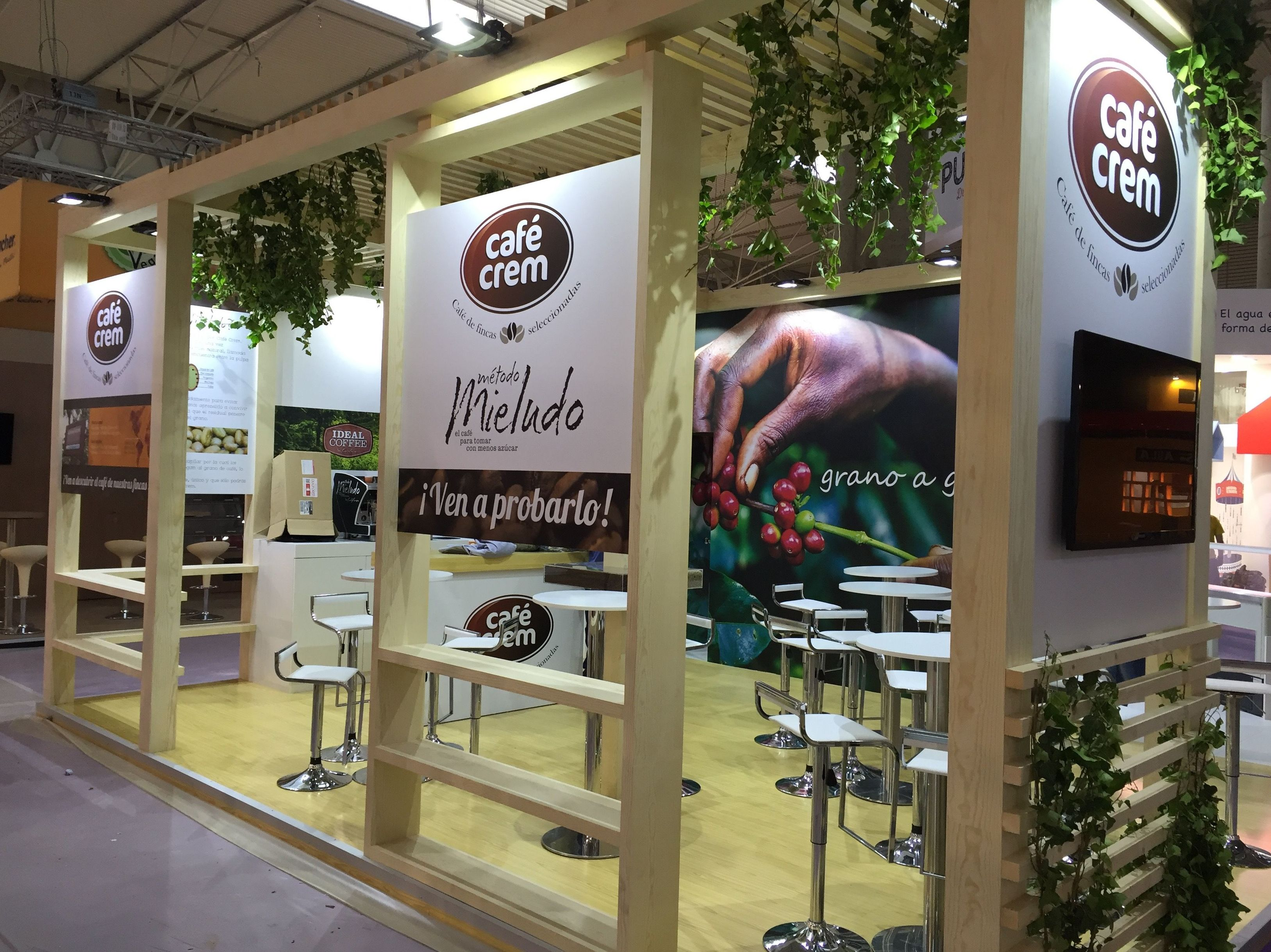 Decoración de stand en Madrid
