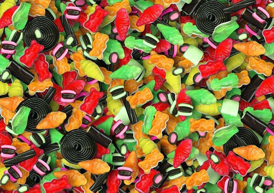 Distribución de caramelos de alta calidad