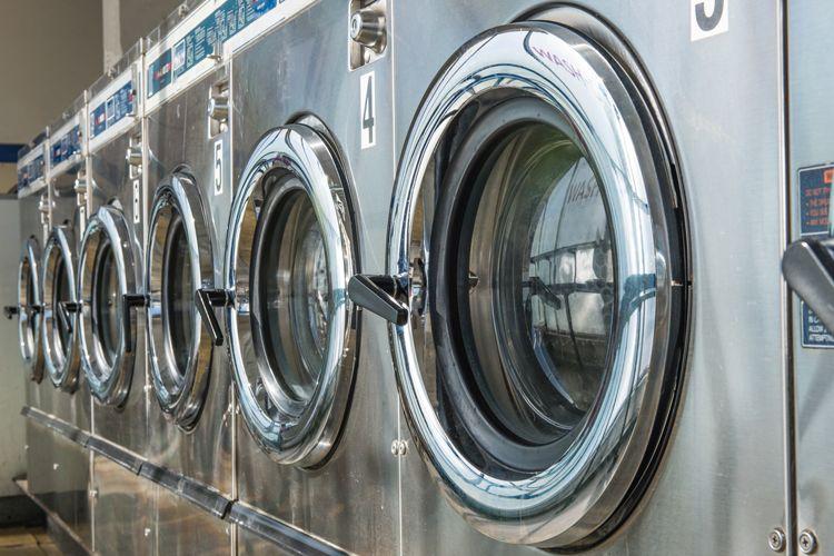 Lavandería industrial para ropa de trabajo