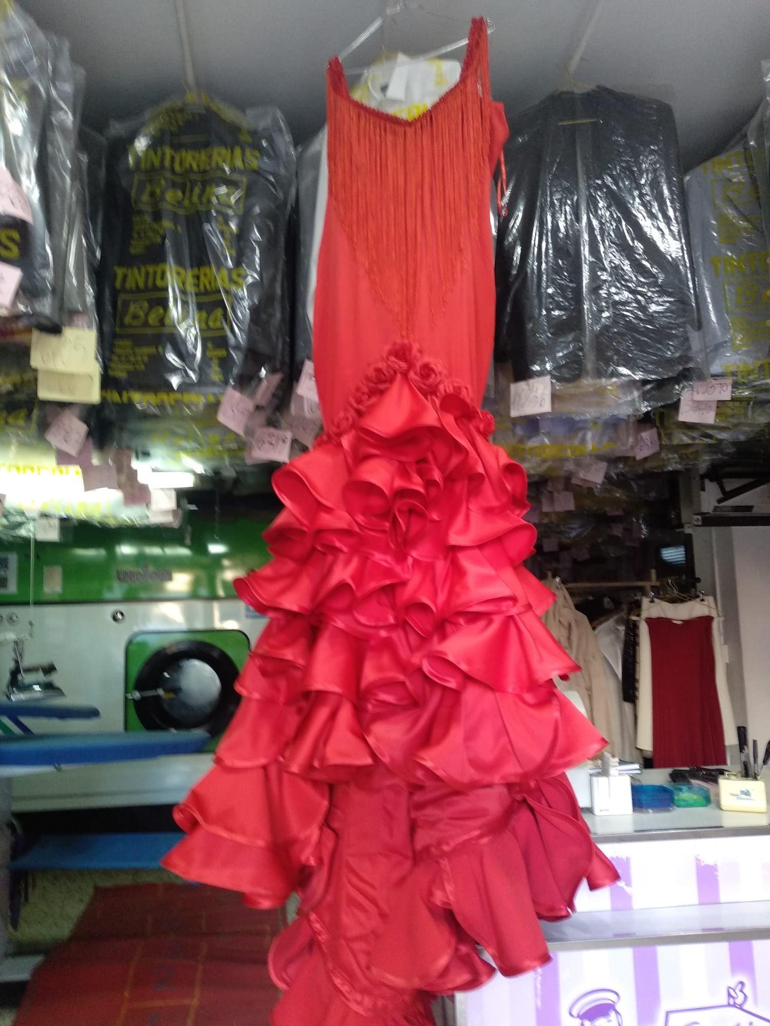 Limpieza de vestido