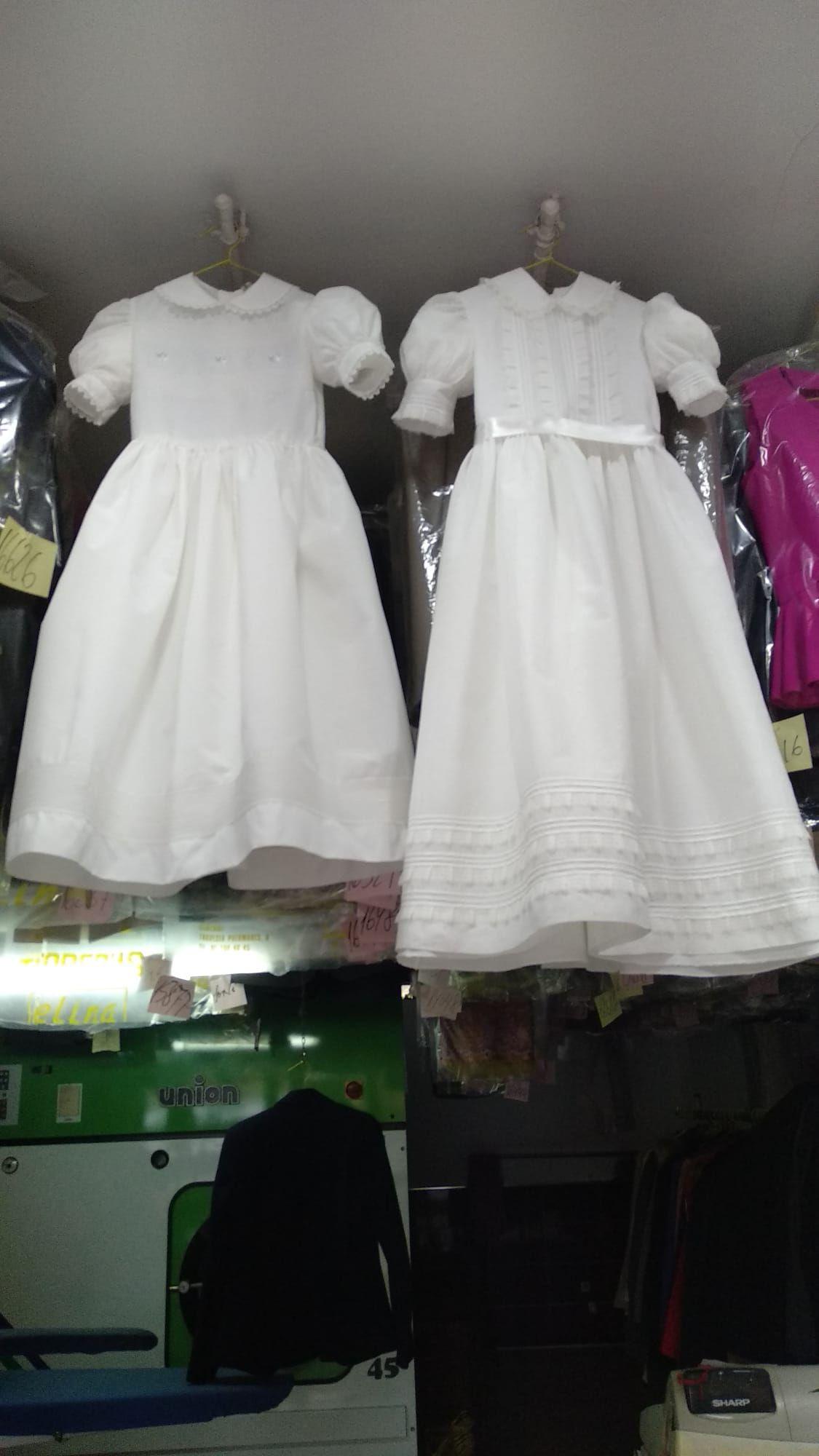 Limpieza vestidos de comunión