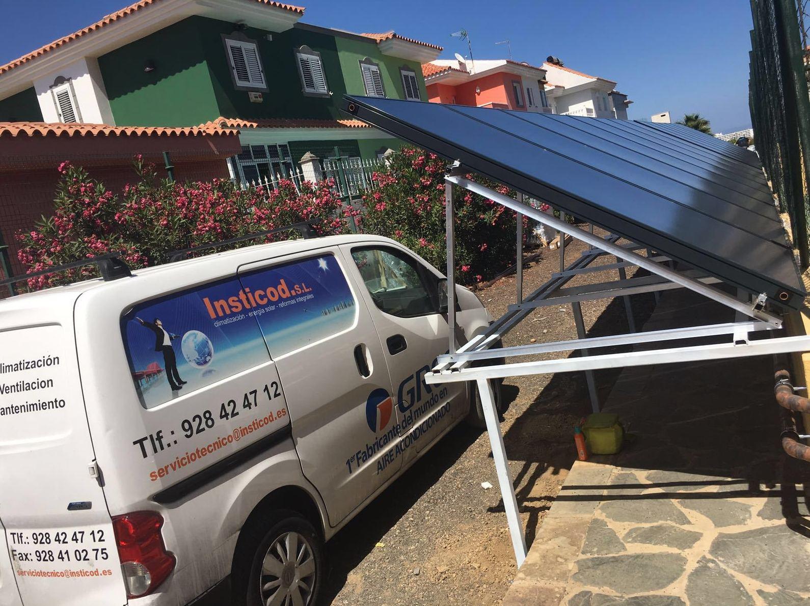 instalacion placas solar Tenerife