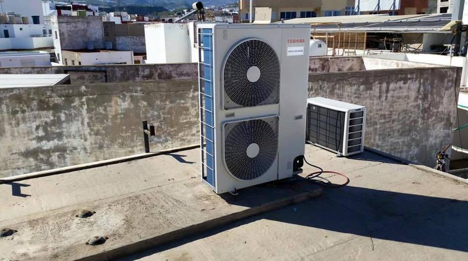 Instalación de sistemas de aire acondicionado