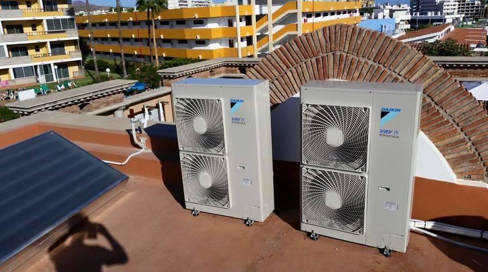 Aire acondicionado para comunidades