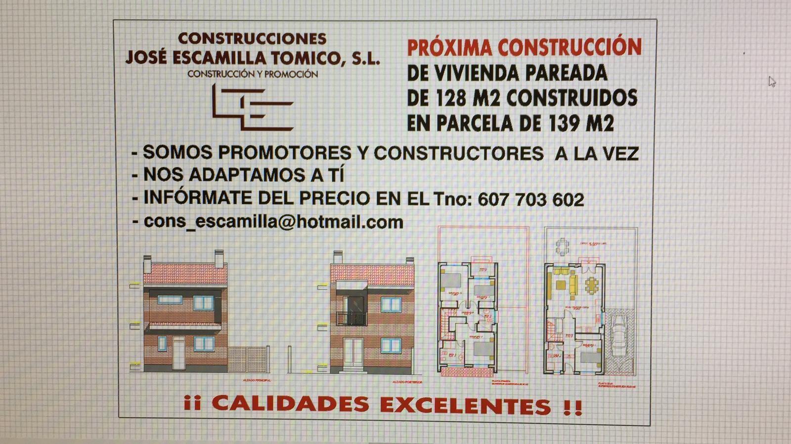 Construcciones José Escamilla Tomico