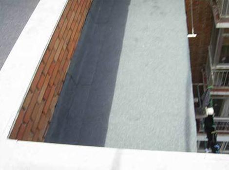 Tejados con cubrición de tela asfáltica: Servicios de Reparaciones Te & Cu