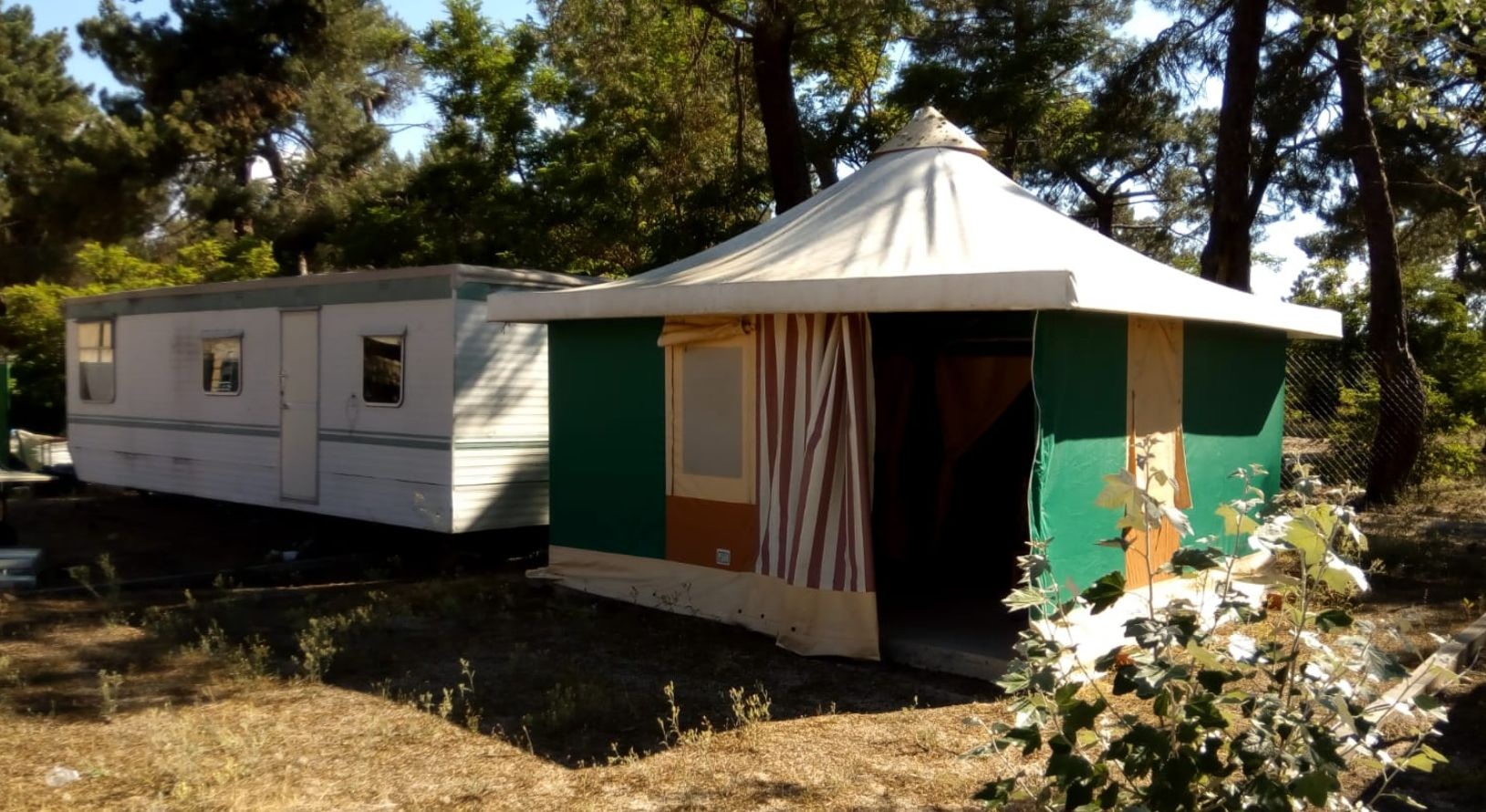 Camping en Coca, Segovia