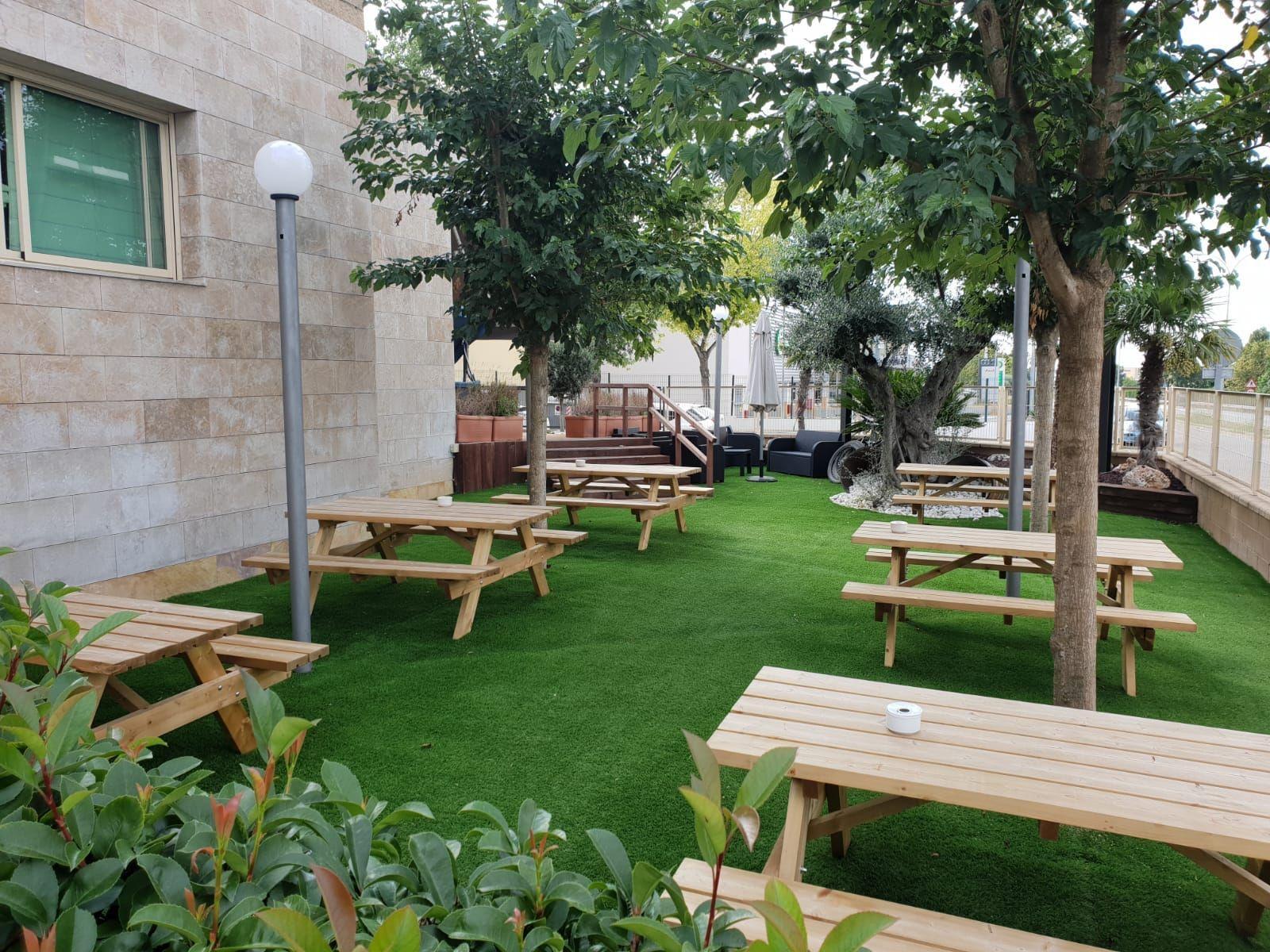 Restaurante con terraza en Castellar del Vallés