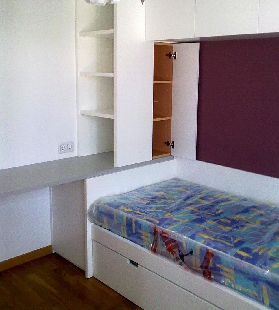 Diseño y fabricación de dormitorios juveniles a medida en Pamplona