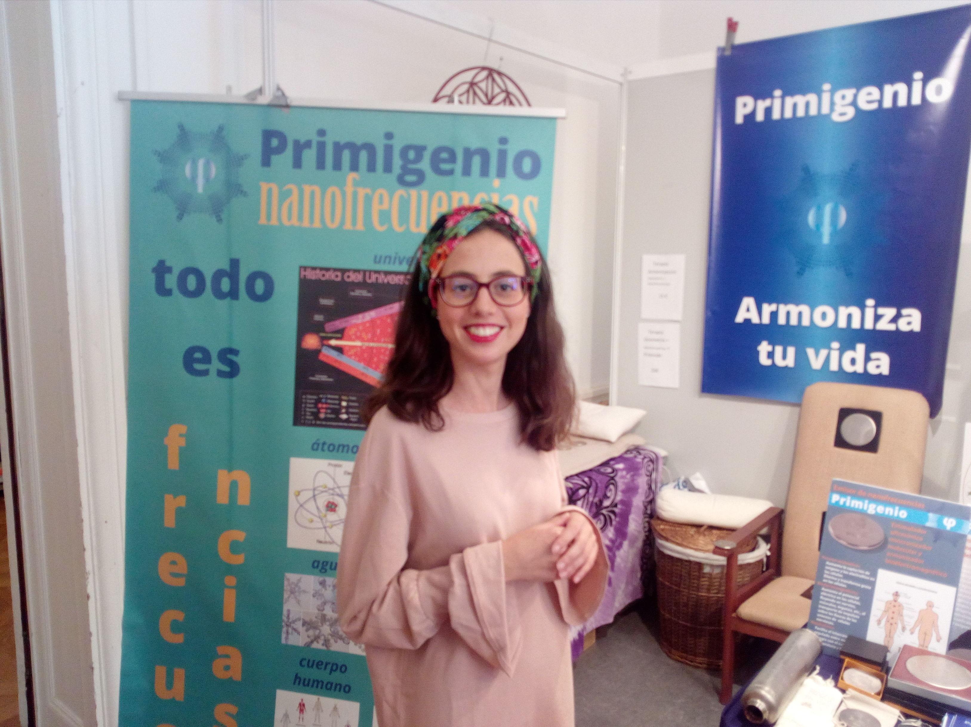 Feria esoterica en el Palacio Mirmar de San Sebastian,