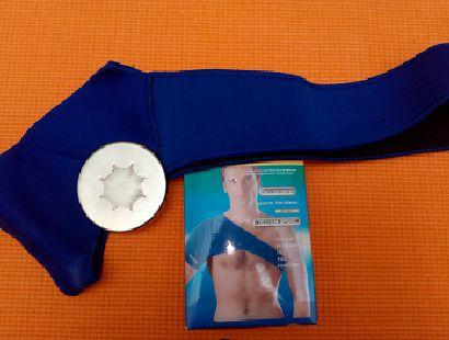 Soporte para colocar las placas en el hombro: Emisores de nanofrecuencias de Primigenio