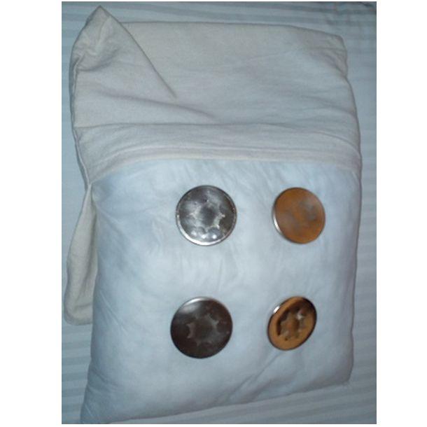 Cojín con placas: Emisores de nanofrecuencias de Primigenio