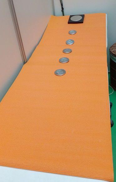 Soporte para la camilla: Emisores de nanofrecuencias de Primigenio