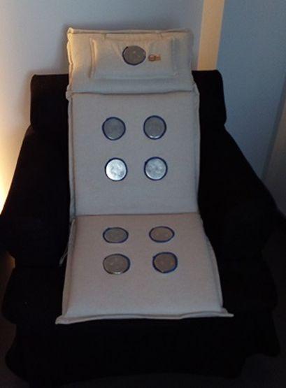 Soporte para sillones, conductores, camillas...: Emisores de nanofrecuencias de Primigenio