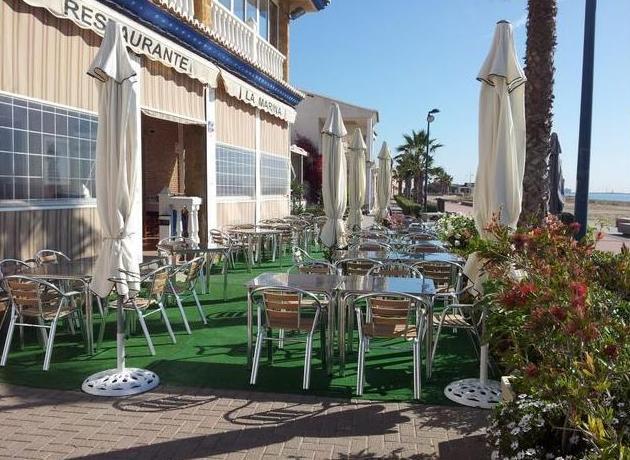 Ensaladas: Carta de Restaurante La Marina