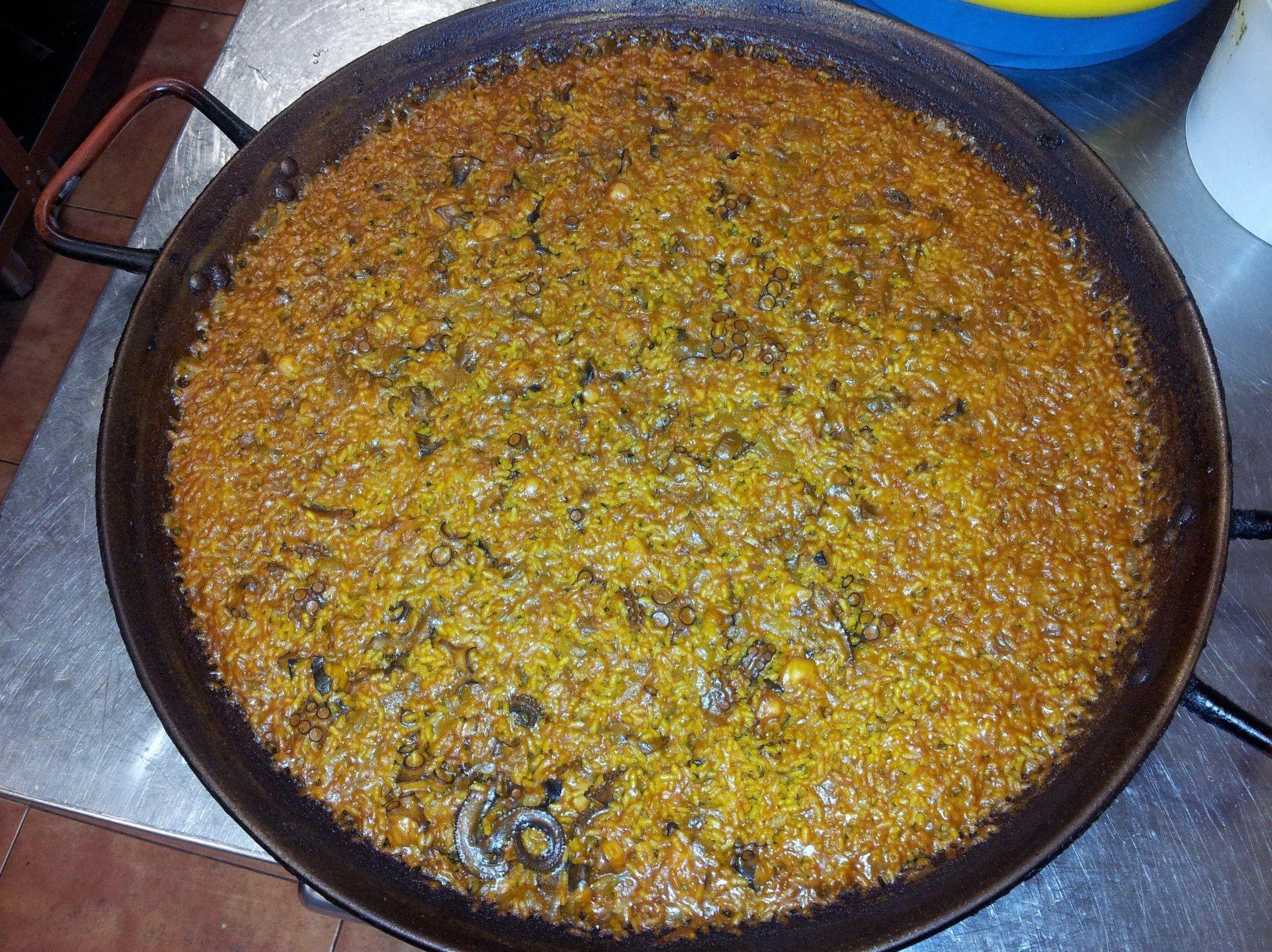 Donde comer paella en Puçol