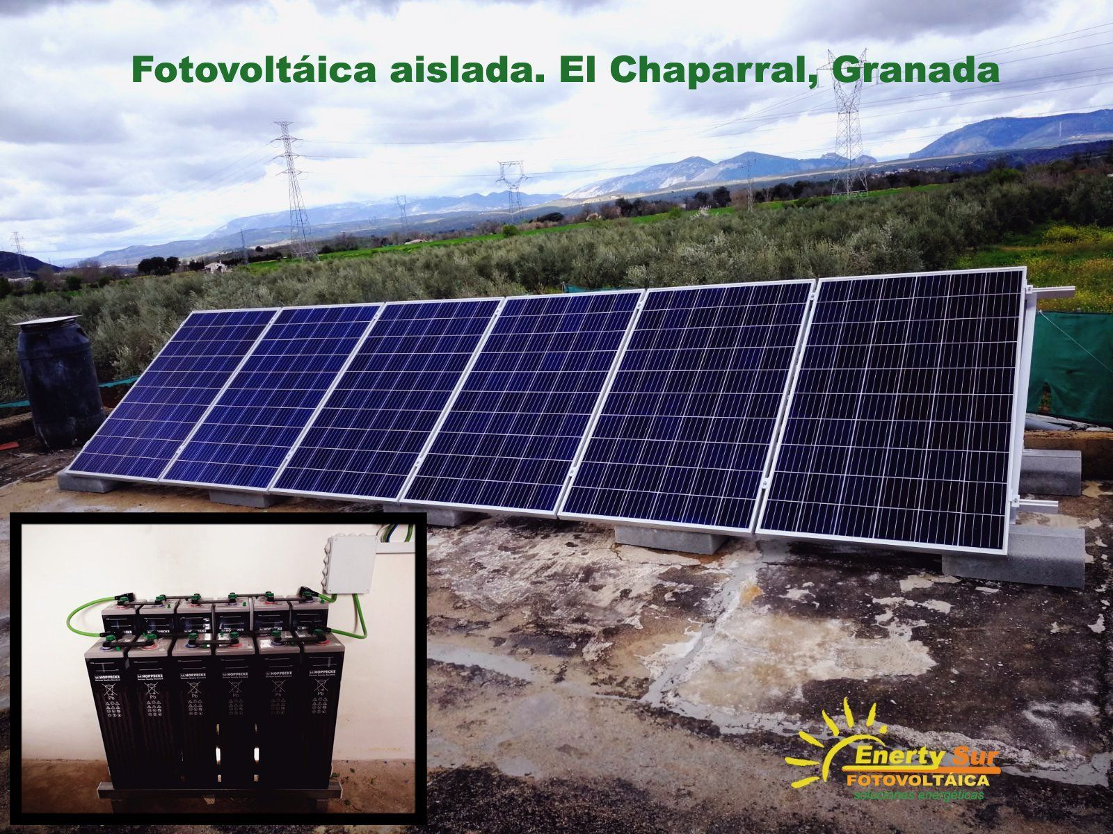Energías renovables en Granada