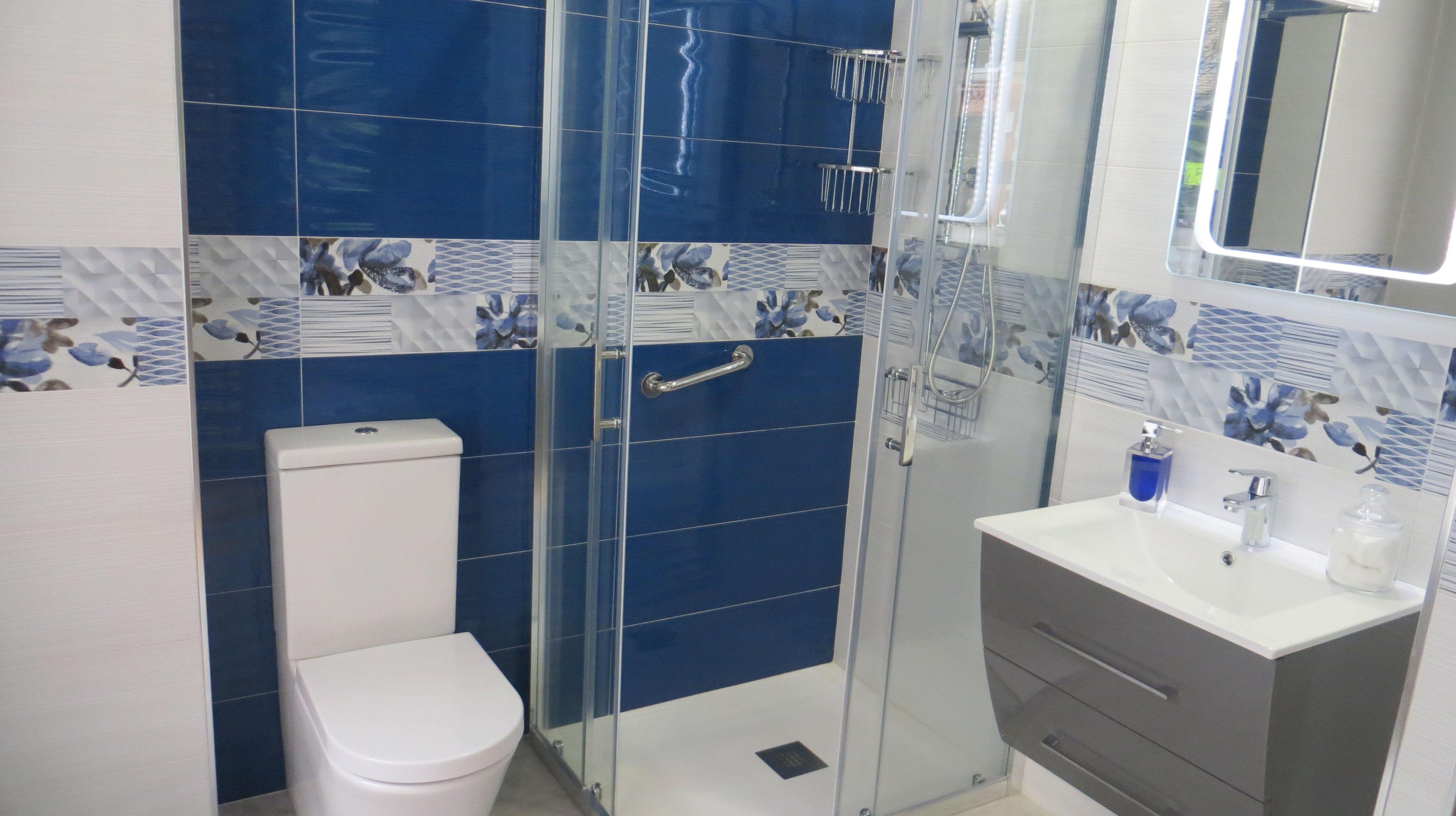Ambiente de baño en tienda