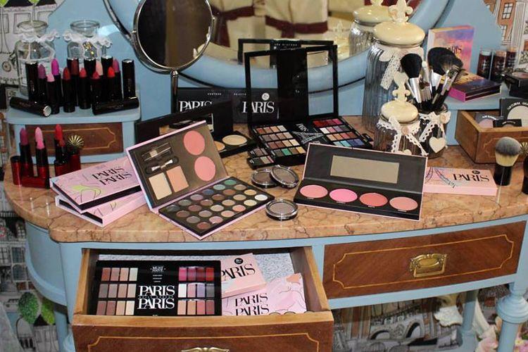 Amplia gama de productos cosméticos