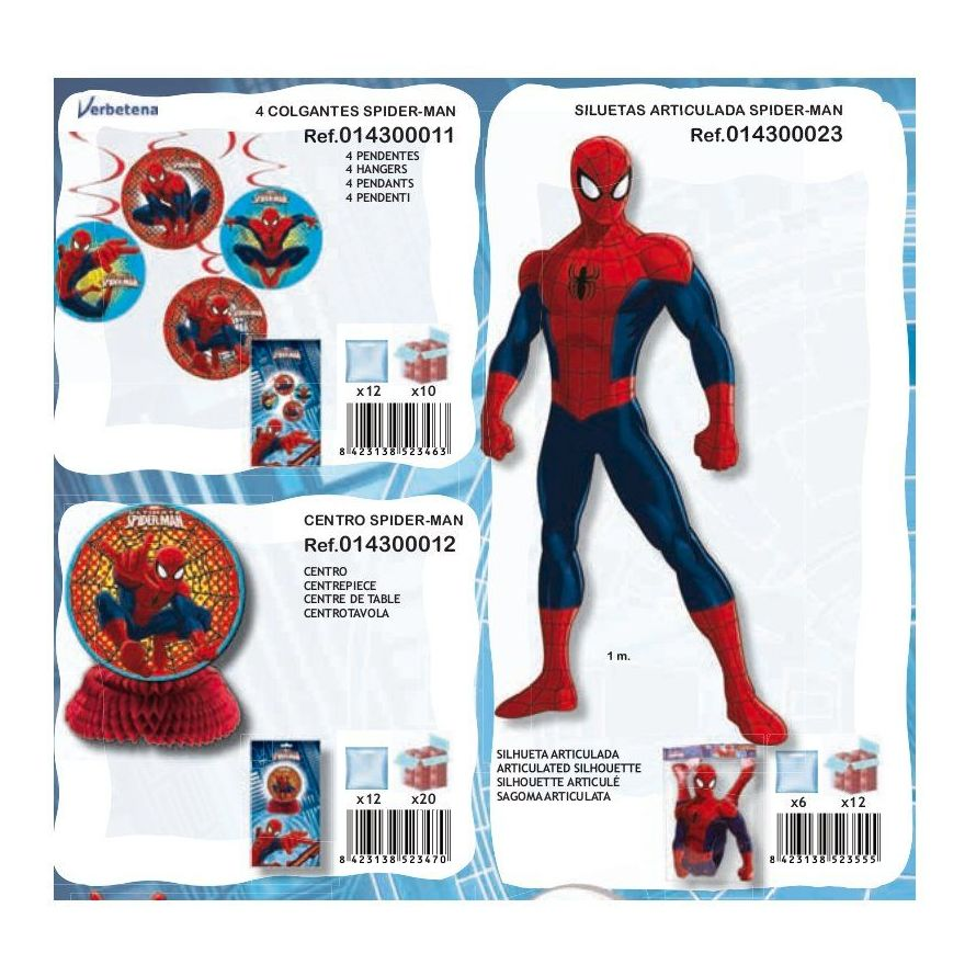 Spiderman: Productos de Verbetena