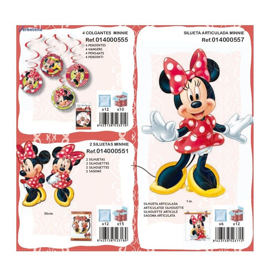 Minnie Mouse: Productos de Verbetena