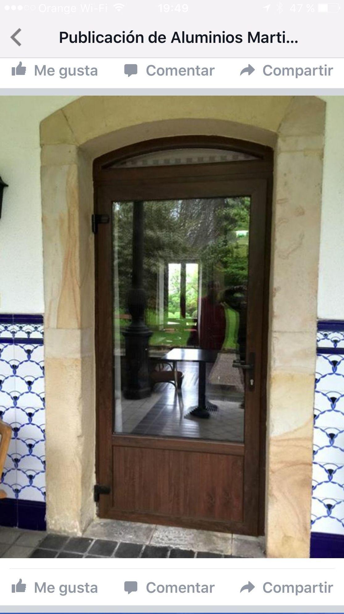 Puerta PVC Gijón