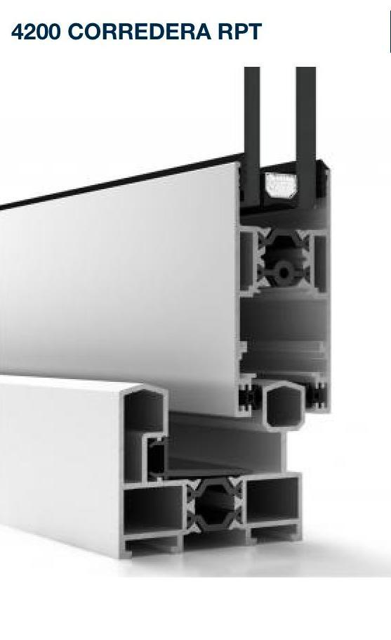 Corredera Cor 4200 con rotura de puente térmico Gijon Asturias: Productos de Aluminios Martinez