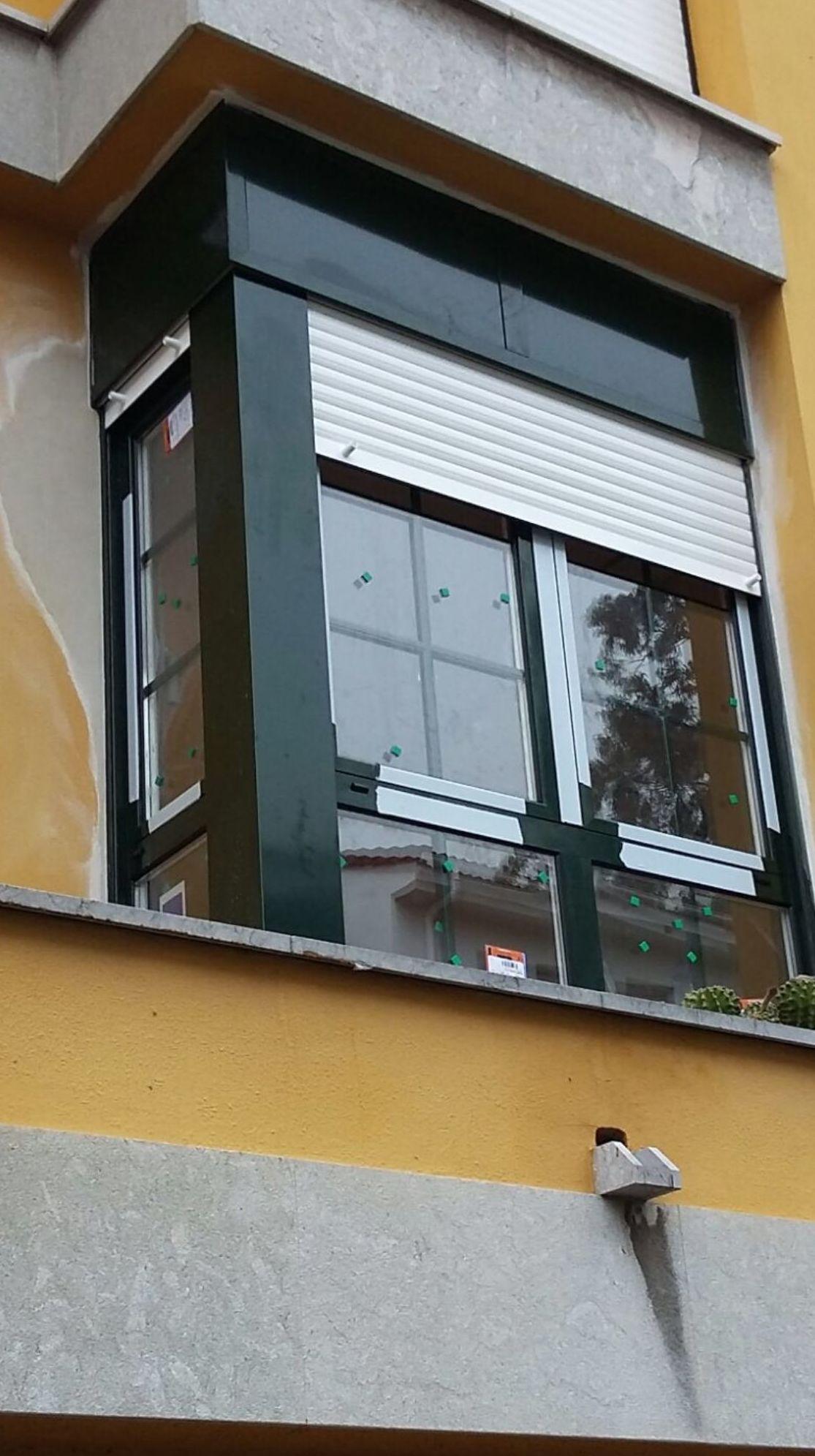 Ventanas Aluminio bicolor en Gijón