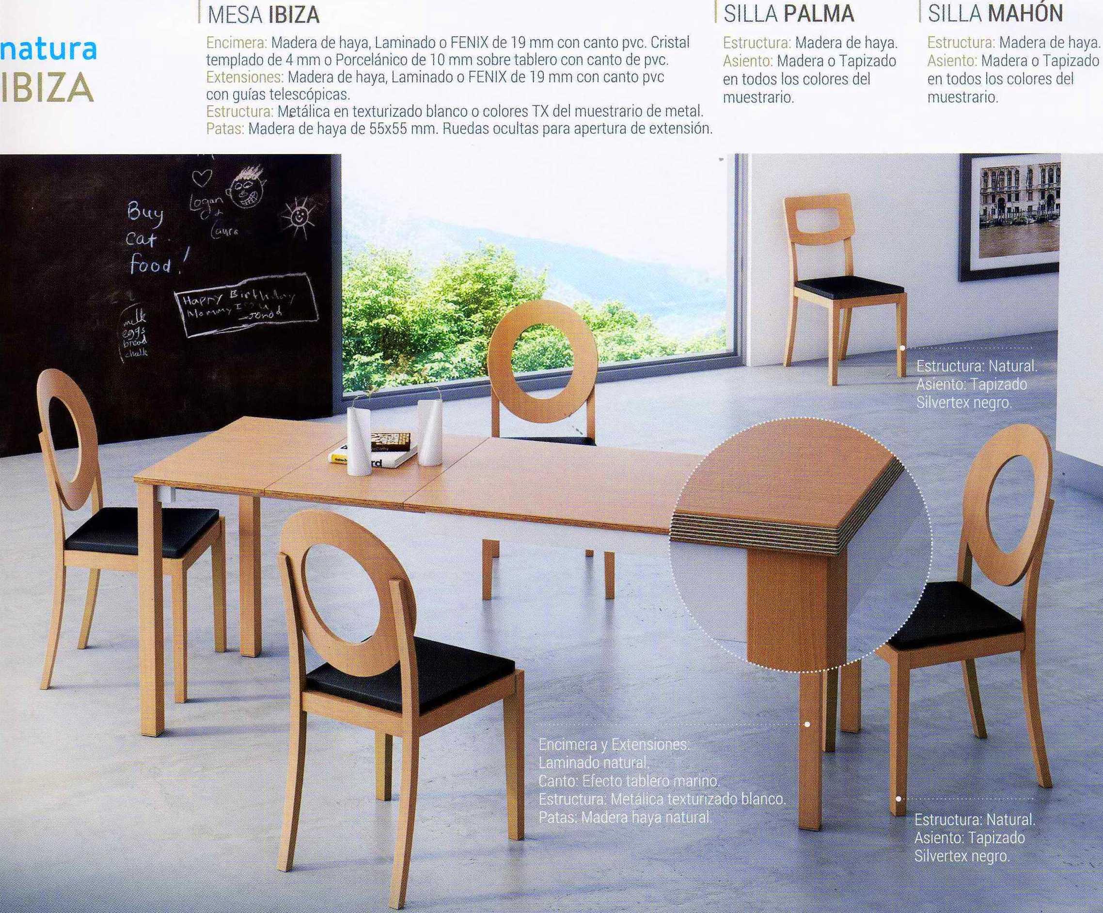 Mesa en madera, Modelo Ibiza.   Keldor Gijón