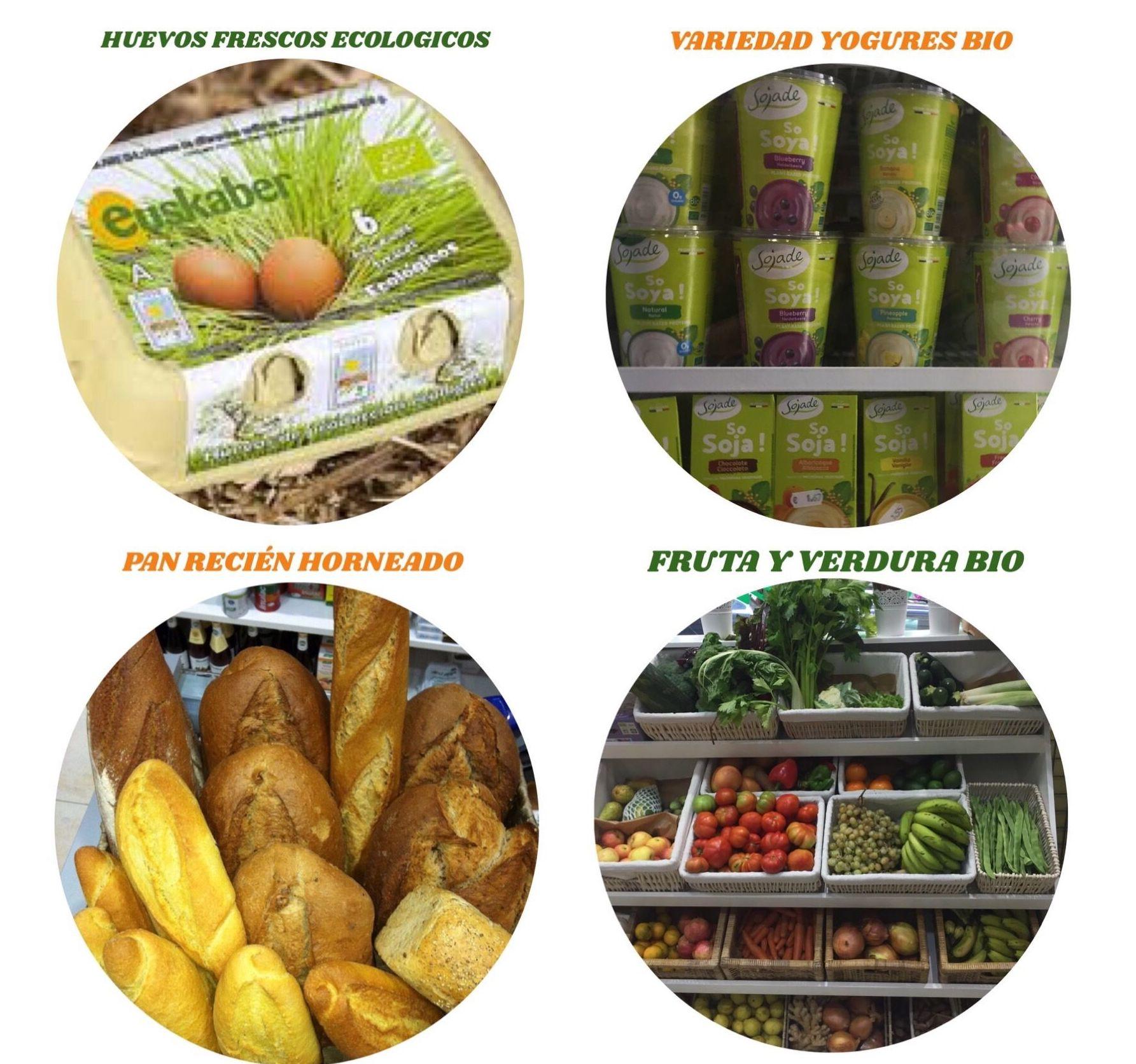 Alimentos frescos ecológicos en Bilbao